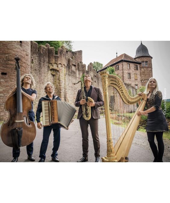 16. Juli 2020: Spreewaldkonzerte 2020 QUADRO NUEVO - Wunder Welt Musik