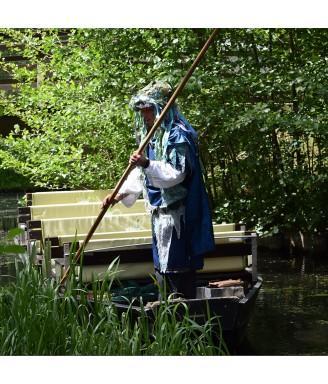 Freitag: Eine Kahnfahrt mit dem  Wassermann