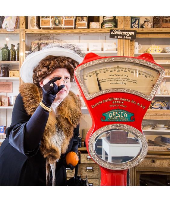 Mittwoch: Frau Bürgermeisterin geht shoppen - eine Erlebnisführung