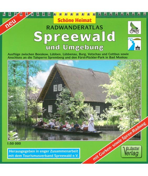 Radwanderatlas Spreewald und Umgebung