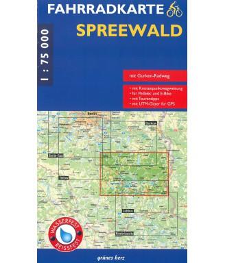 Fahrradkarte Spreewald