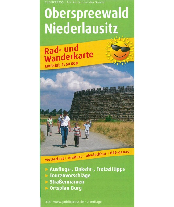 Radkarte Oberspreewald Niederlausitz