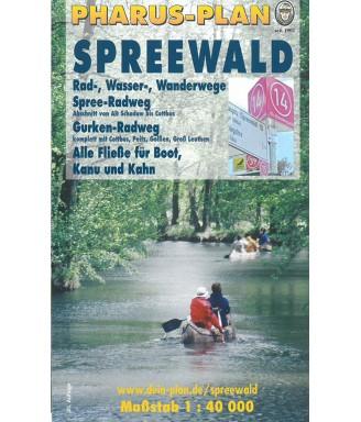 Pharus Plan Spreewald