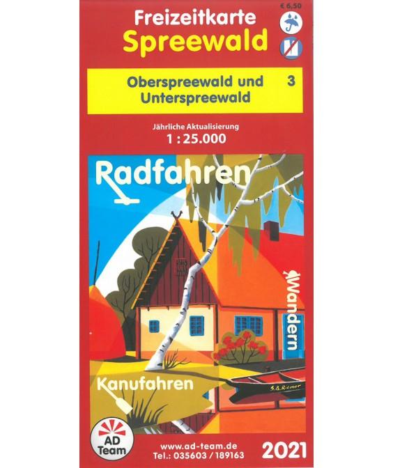 Freizeitkarte Spreewald